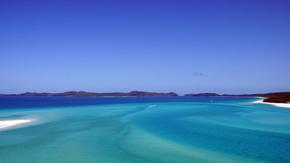 whitsunday îles paradisiaques du monde
