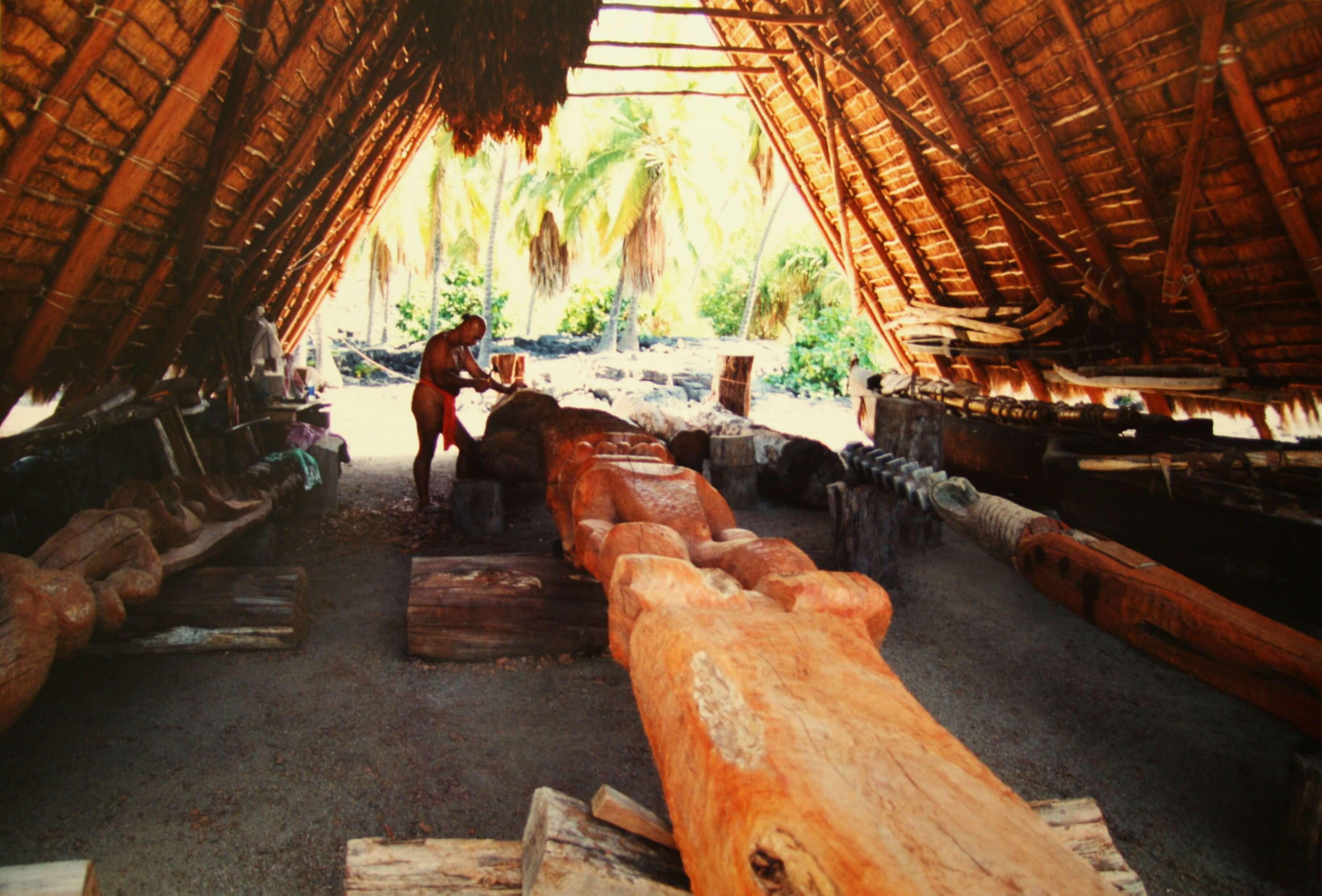 Puʻuhonua o Hōnaunau National Park, appelé aussi « La Cité du refuge » est une attraction incontournable pour son intérêt culturel. Il est situé sur la Grande île de l'archipel hawaiien.