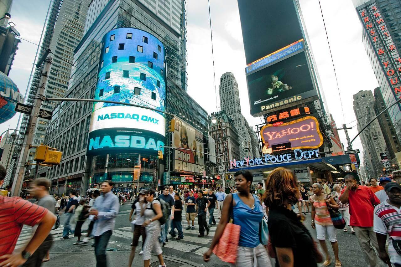 La place la plus fréquentée de Manhattan, célèbre pour ses écrans géants et ses magasins, est également celle qui offre le potentiel touristique le plus élevé.