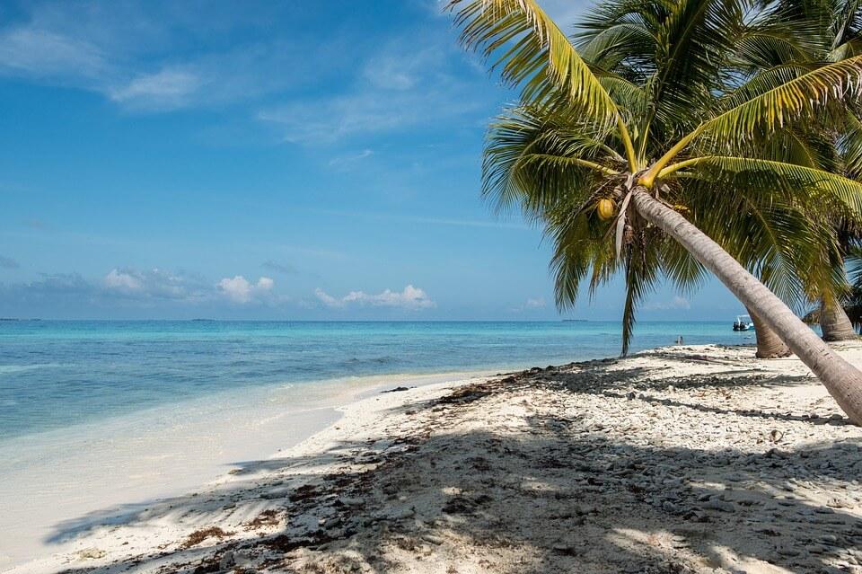 plage sable blanc belize