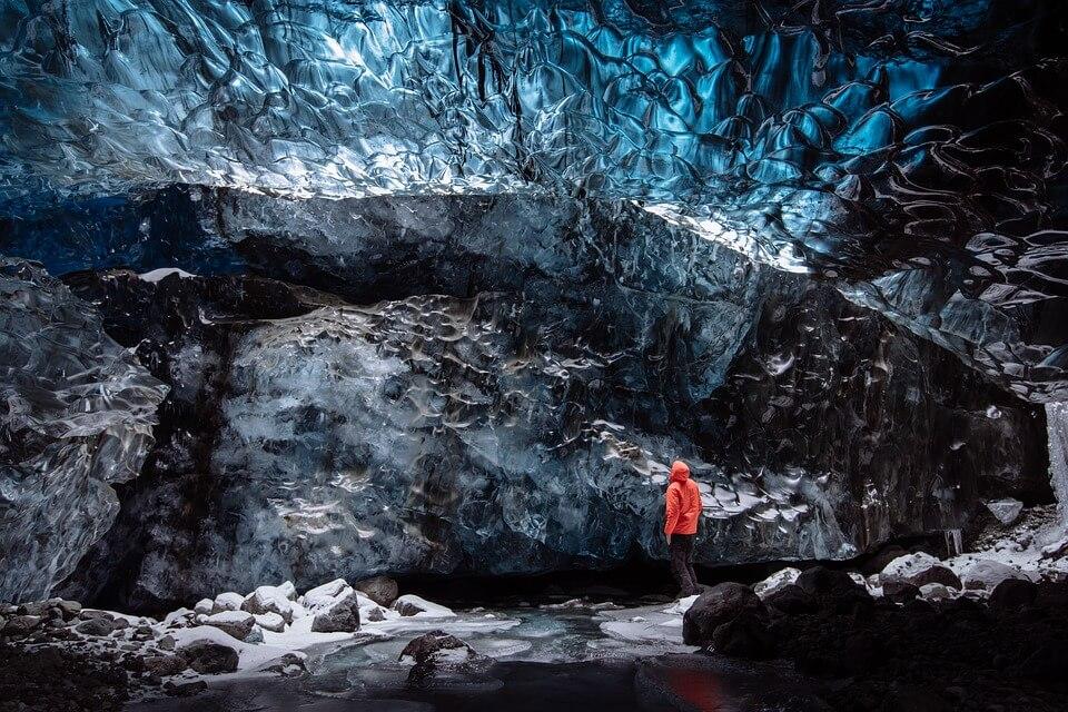 grotte glace islande road trip en Islande