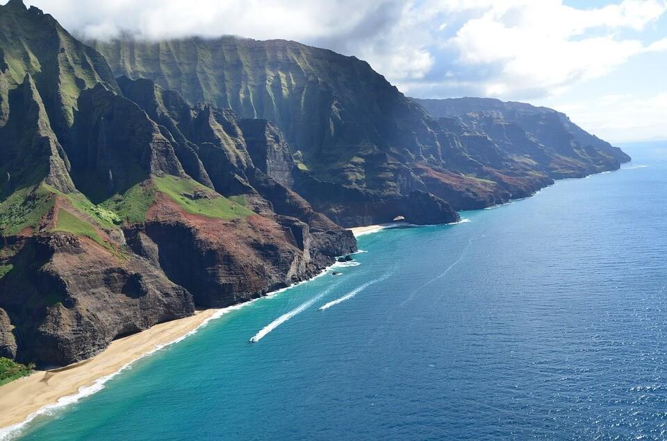 hawai pays chauds en janvier