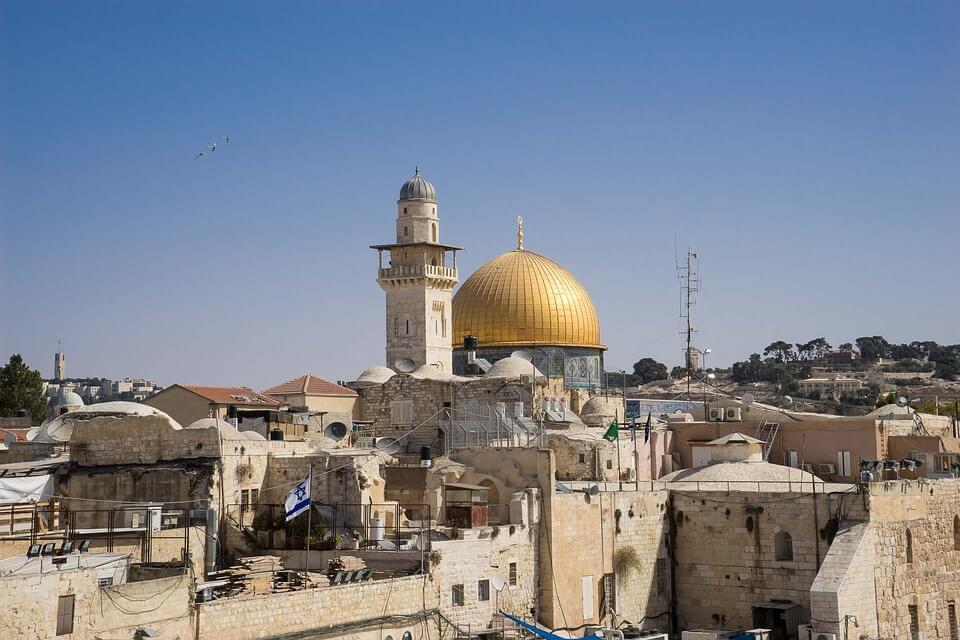 jerusalem israel dome doré