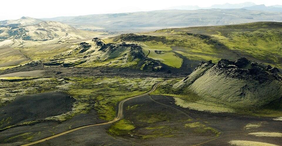 crateres volcan laki paysage road trip en Islande