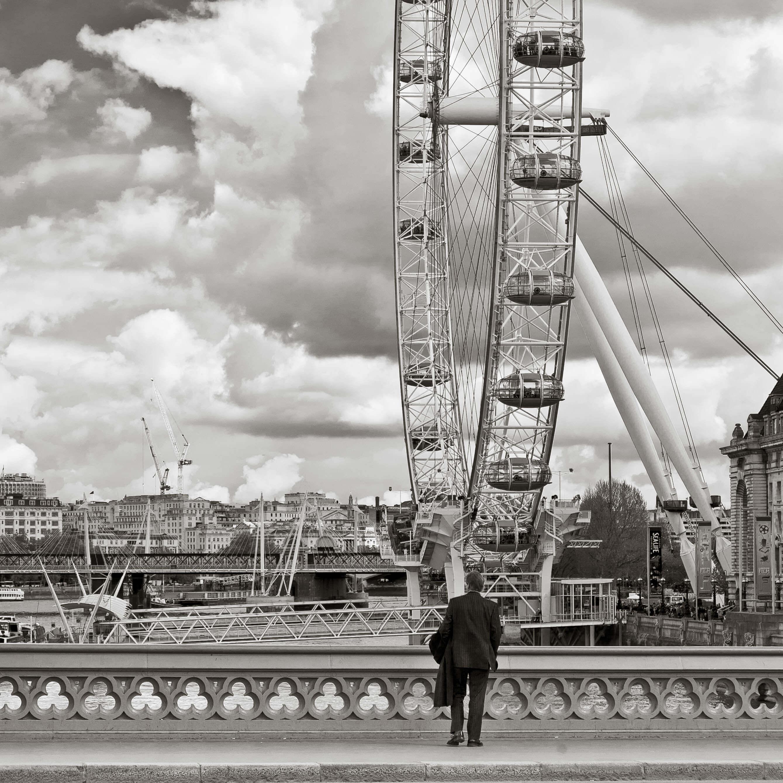 Visiter le London Eye est une belle façon de commencer son escapade à Londres en famille.