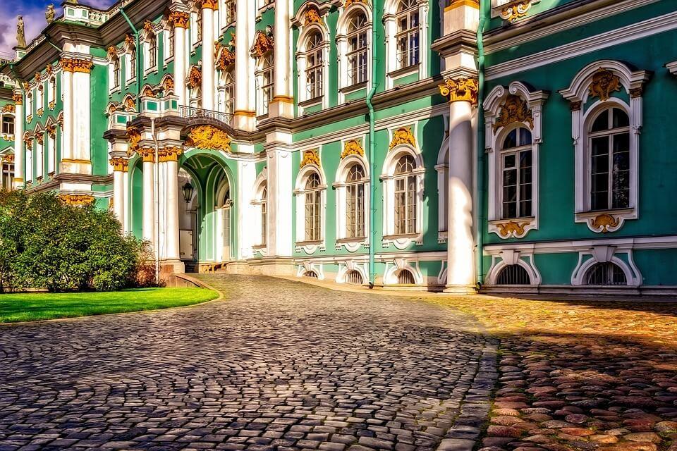 palais ermitage st petersbourg croisière Moscou Saint-Pétersbourg