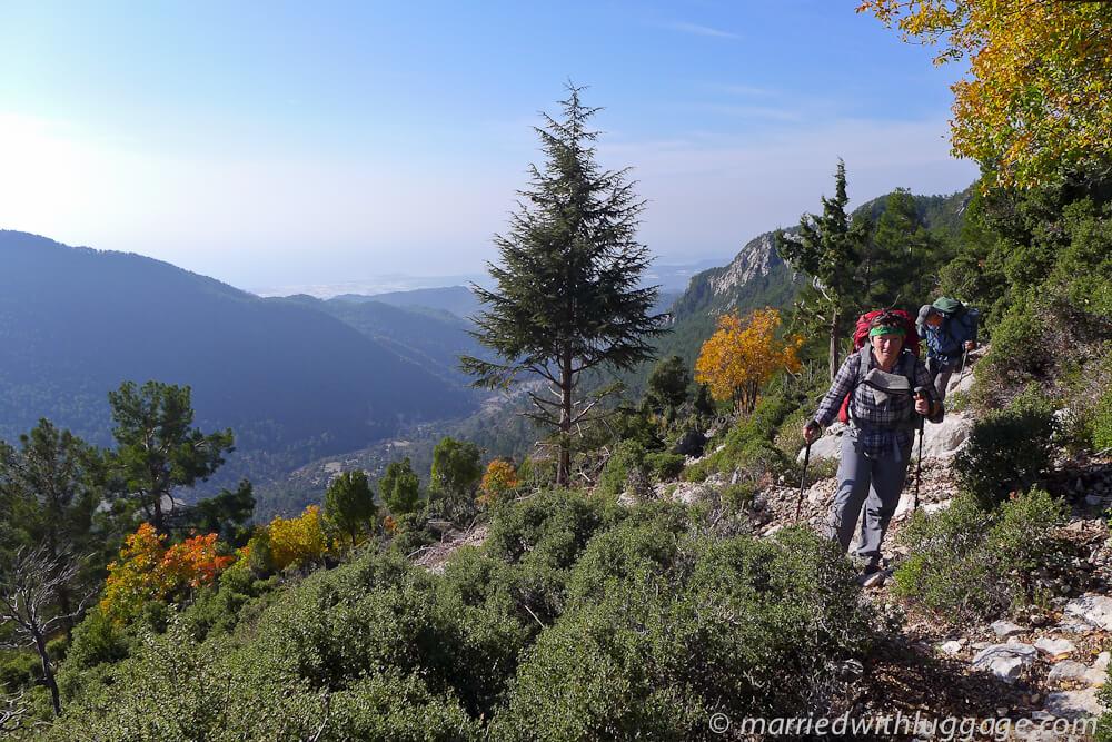 chemin de randonnée voie lycienne randonnée en turquie randonneur