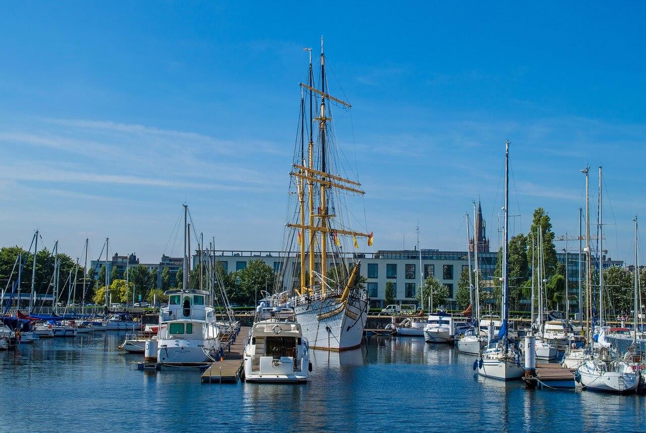 bateaux port ostende itinéraire en belgique