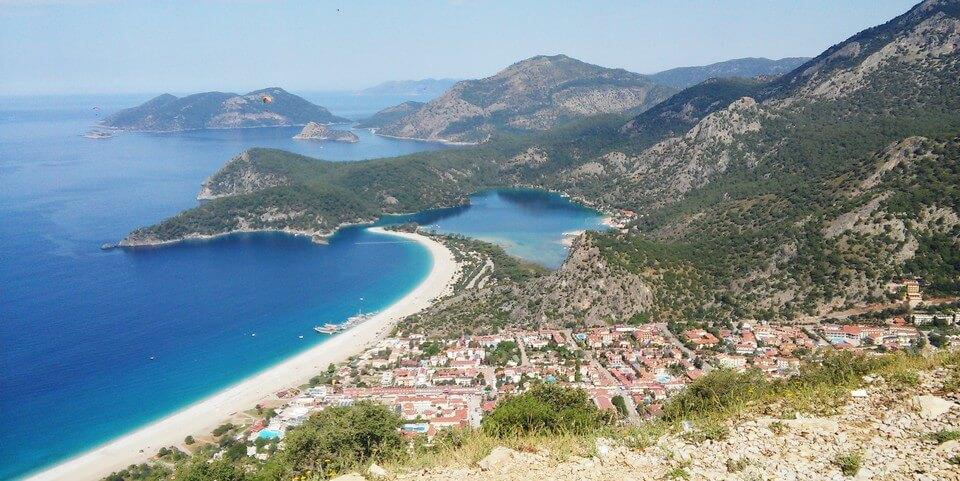 mer paysages montagnes village voie lycienne randonnée en turquie