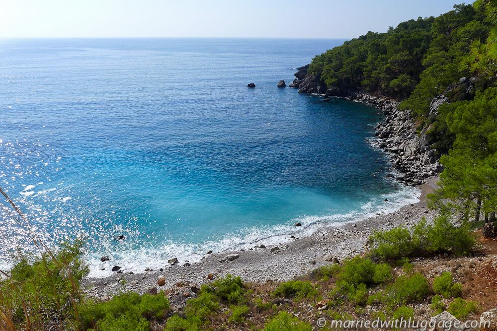 mer plage turquie randonnée