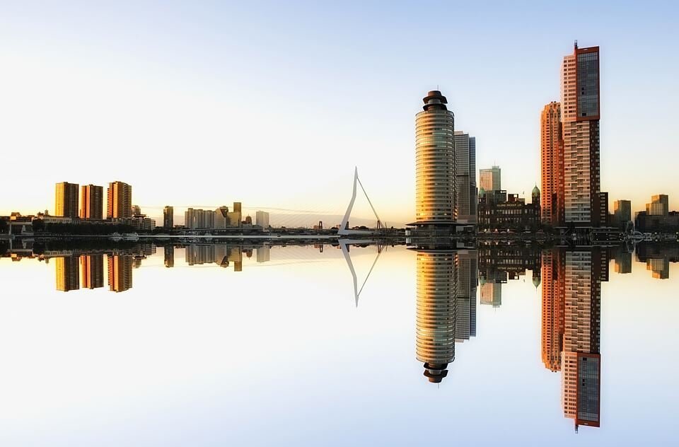 panorama immeubles recents rotterdam que visiter aux pays-bas