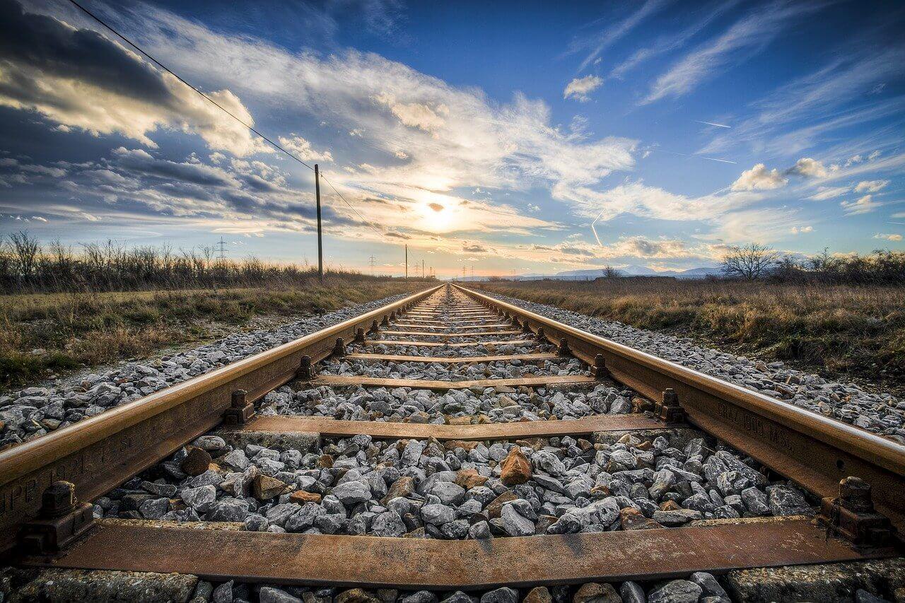 train chemin de fer ciel itinéraire en belgique