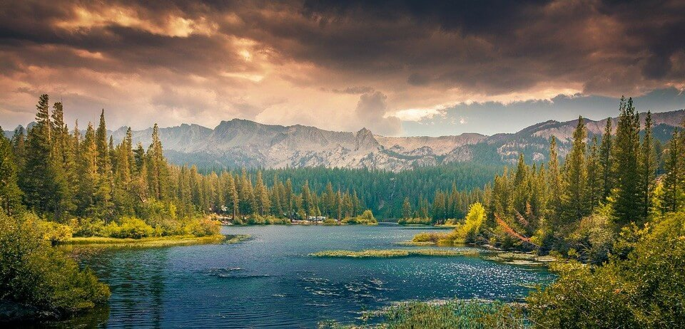 lac canada paysage nature canada au printemps