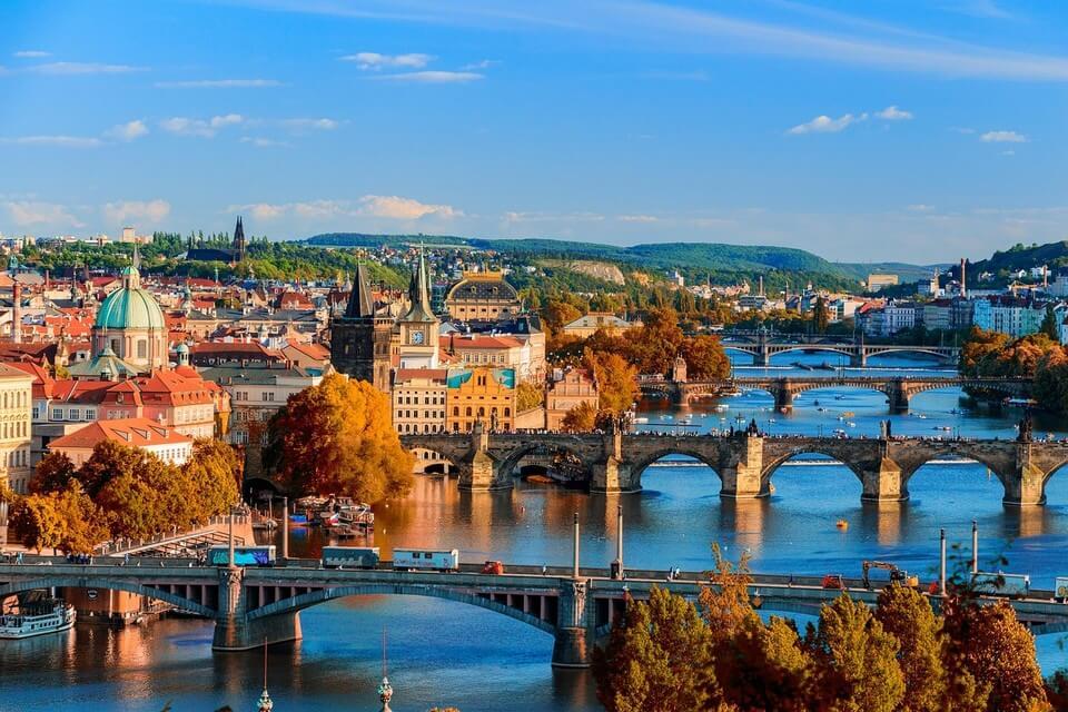 ponts point de vue prague riviere où partir pour 500 euros par personne