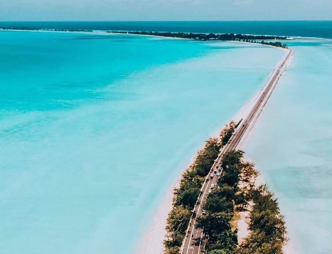 route ile atoll visiter kiribati