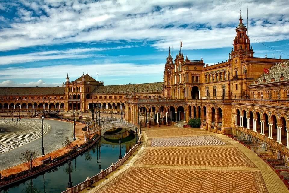 place d'espagne seville espagne andalousie où partir pour 500 euros par personne