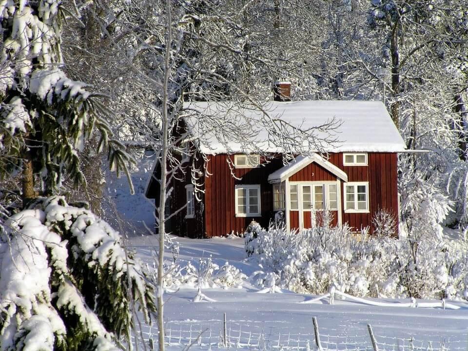 maison suede hiver températures les plus froides du monde