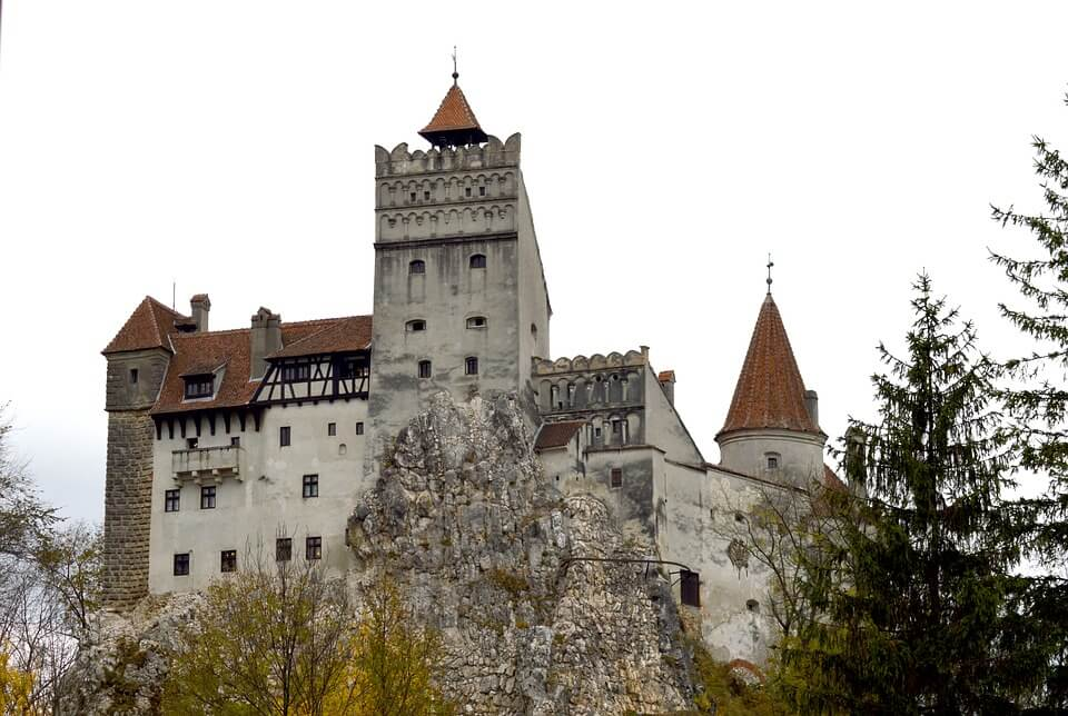 point de vue chateau de bran