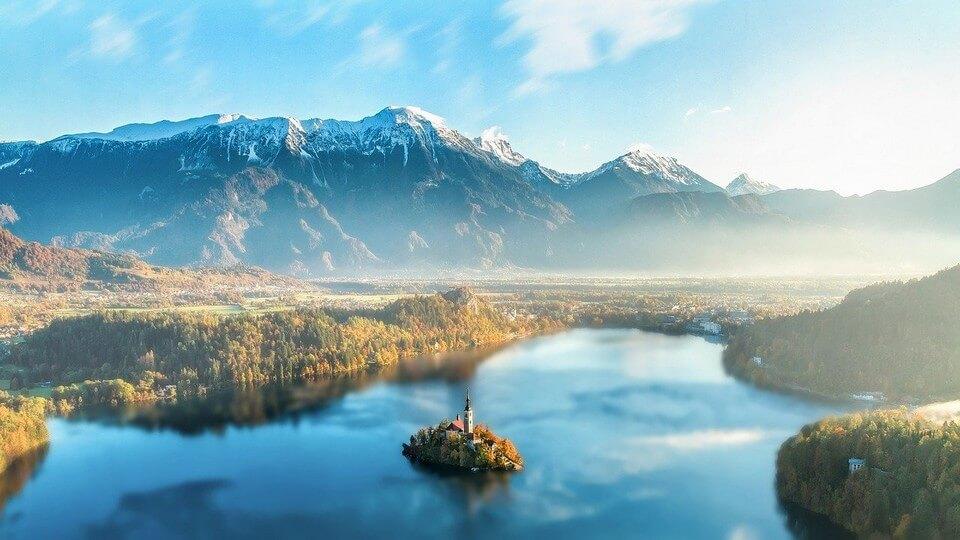 slovenie panorama bled organiser un road trip