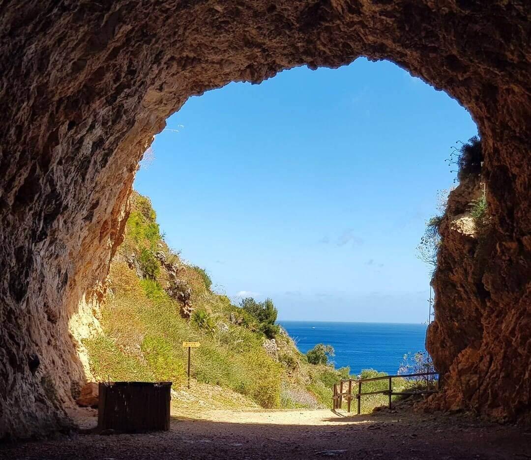 zingaro entrée réserve naturelle du Zingaro sicile