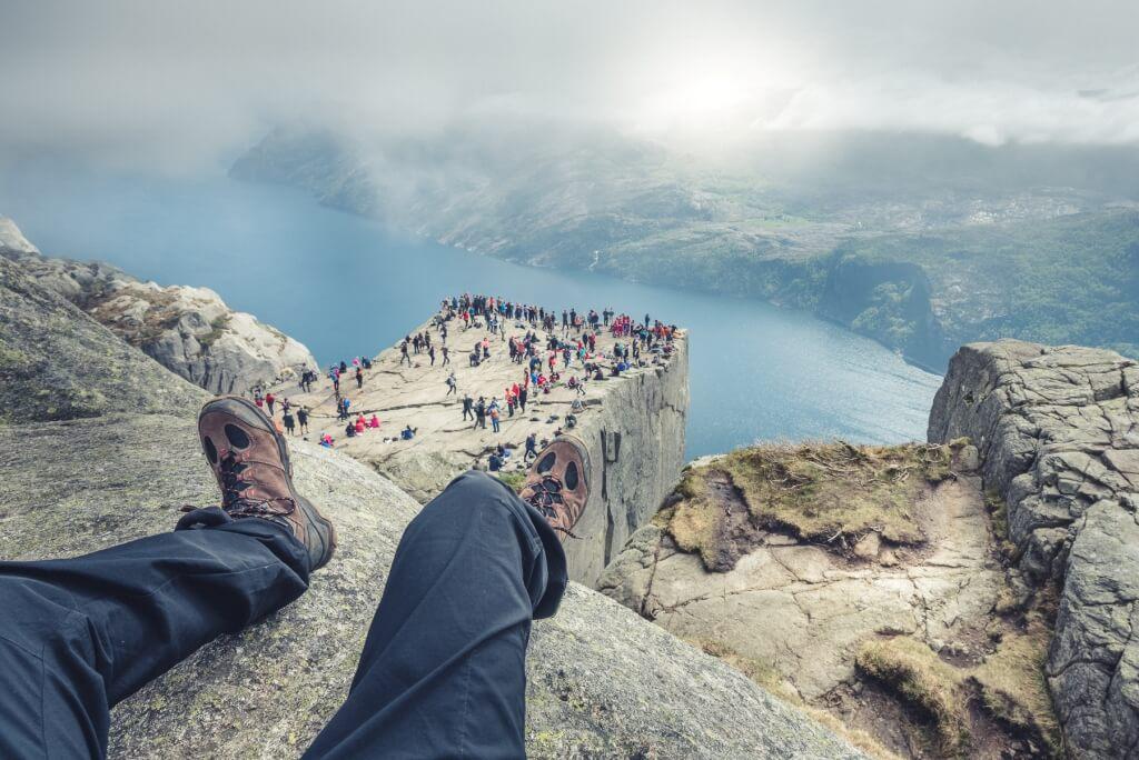 L'effort pour effectuer cette randonnée de 6 km est payant car vous profiterez d'une superbe vue sur des paysages grandioses.
