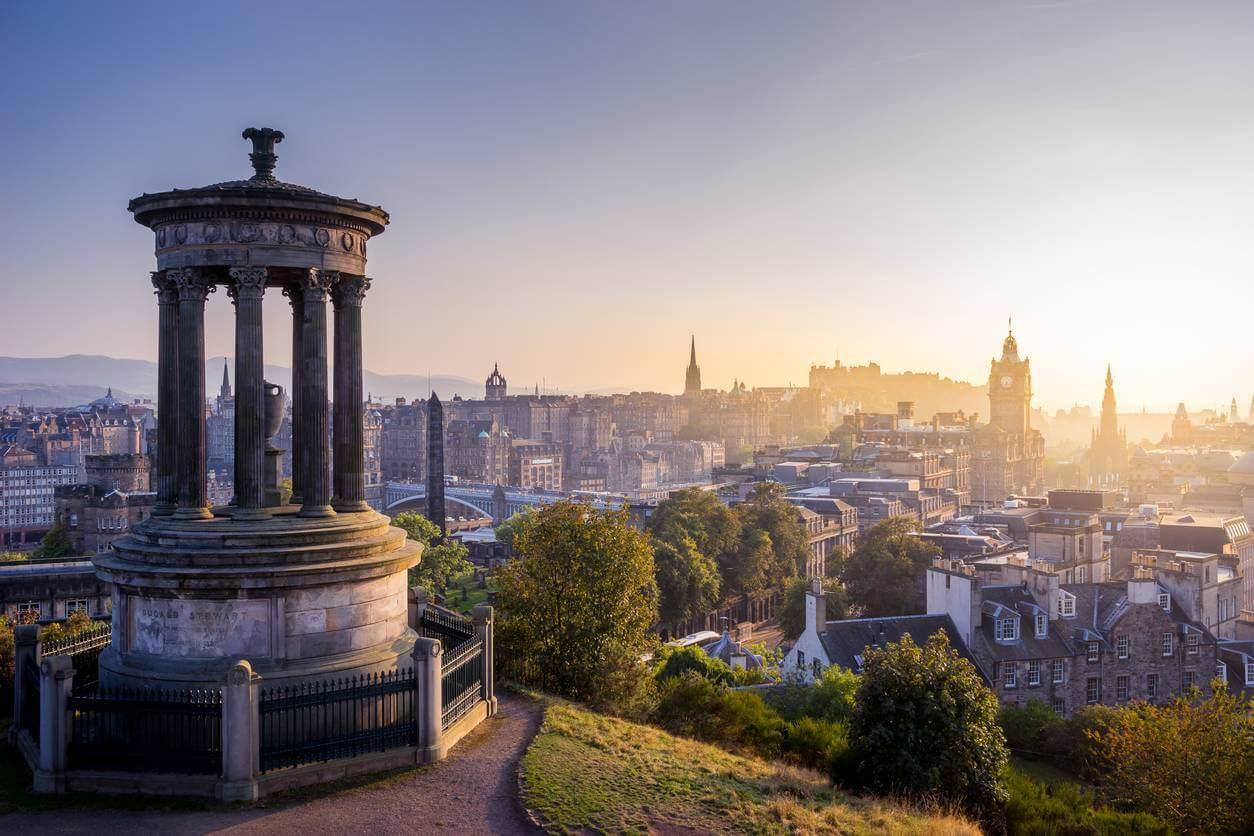 Edimbourg pour apprendre l'anglais
