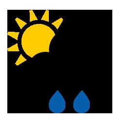 Pluie forte ou modéré