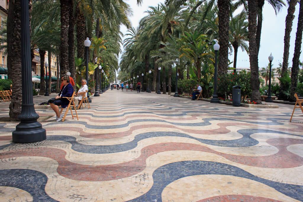Alicante : Explanada de España, Alicante