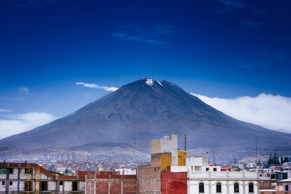 Arequipa : Misti -- Arequipa, Peru