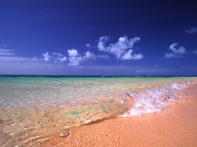 Autres îles du Pacifique-Sud : Laura beach
