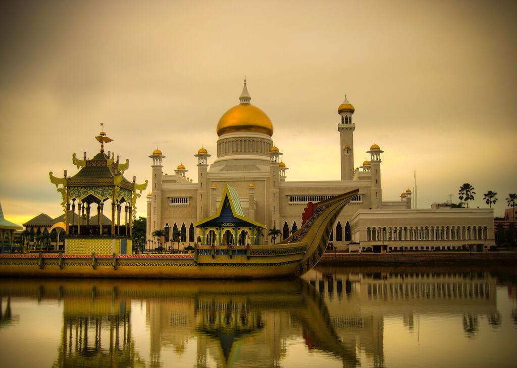 Brunei : Brunei Palace