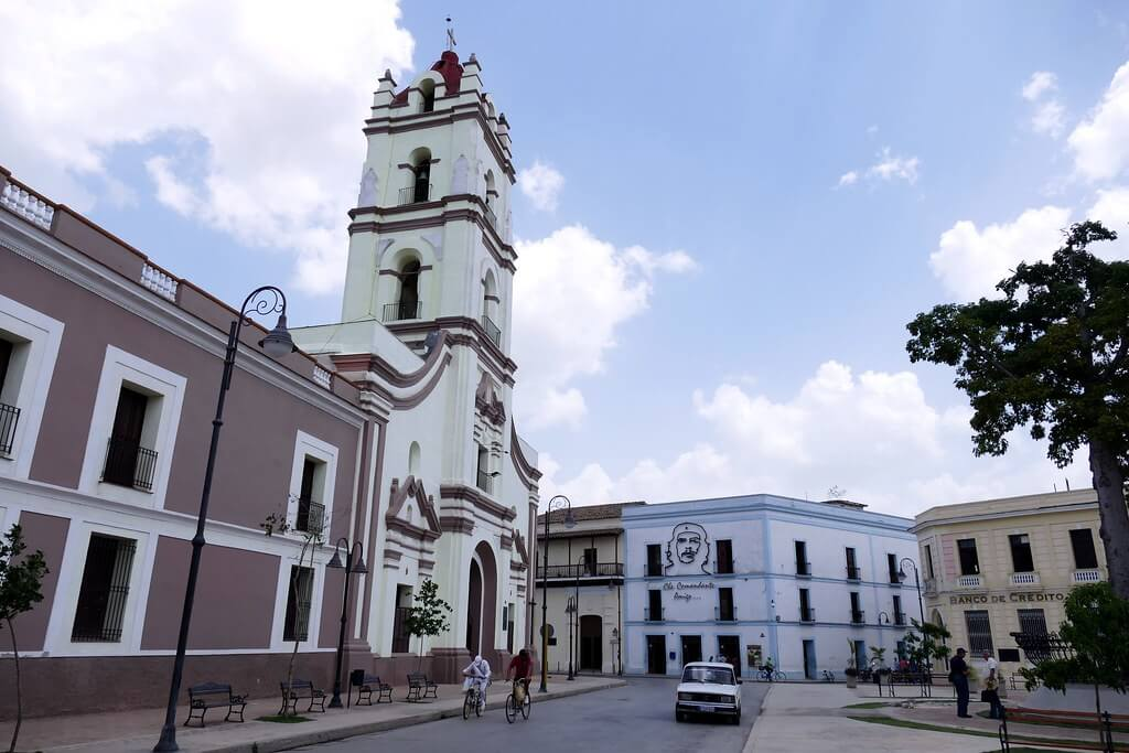 Camagüey : Plaza de los trabajadores
