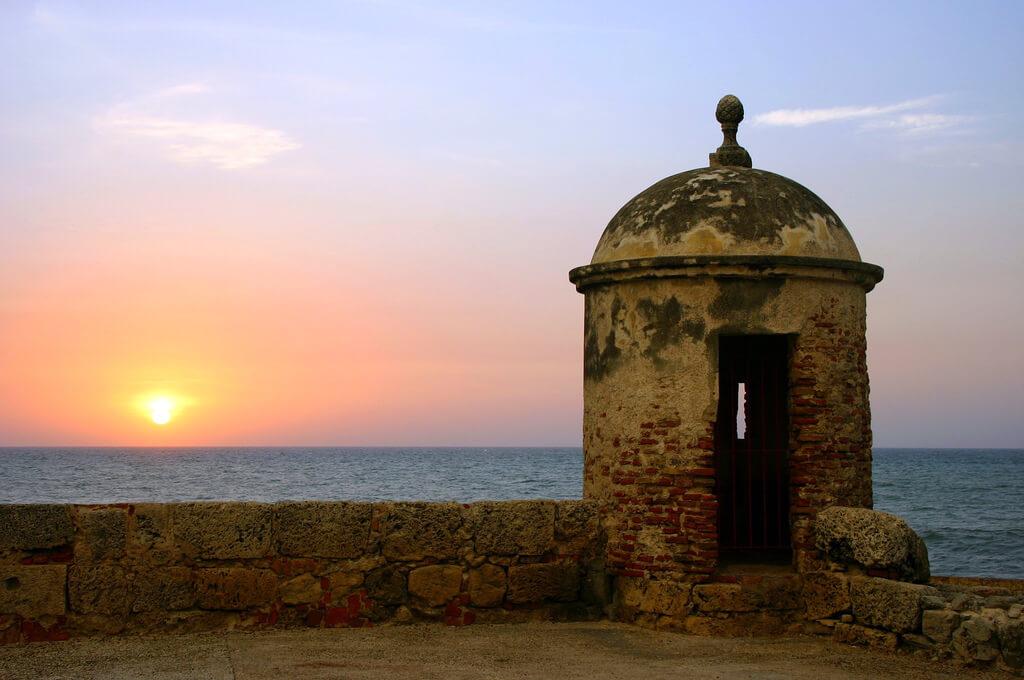 Cartagena (Carthagène des Indes) : Atardecer en Cartegena (Sin cables)