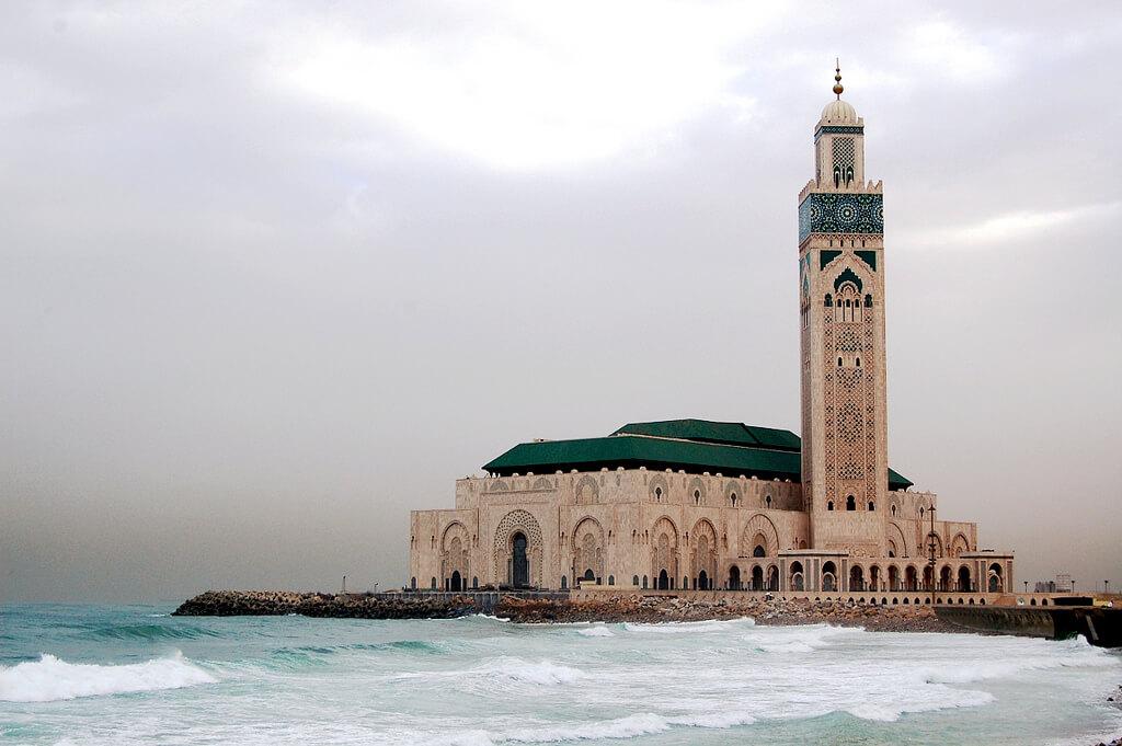 Casablanca : Casablanca Mosque Hassan