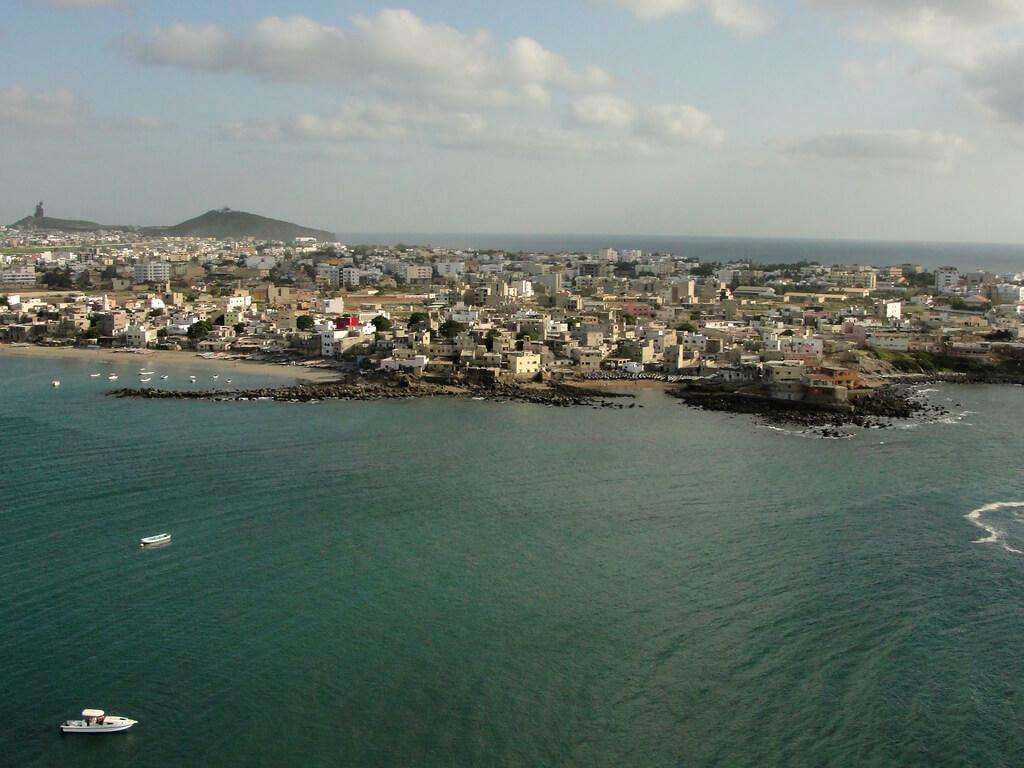 Dakar : Dakar from Ngor
