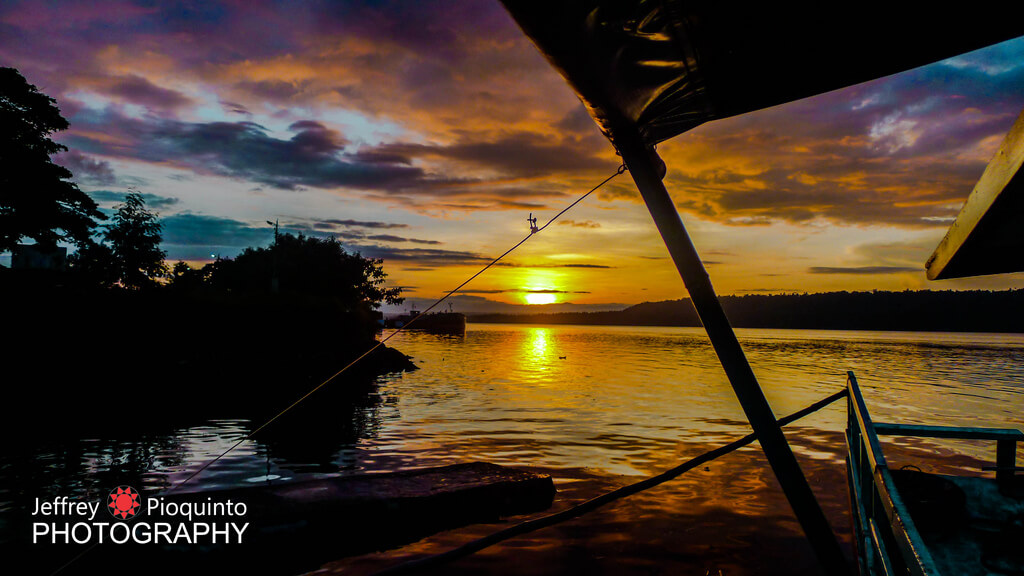 Davao : Sunrise in Paradise Island, Samal, Davao, Philippines