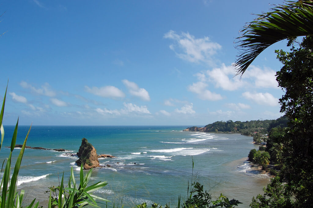 Dominique : Dominica Coastline
