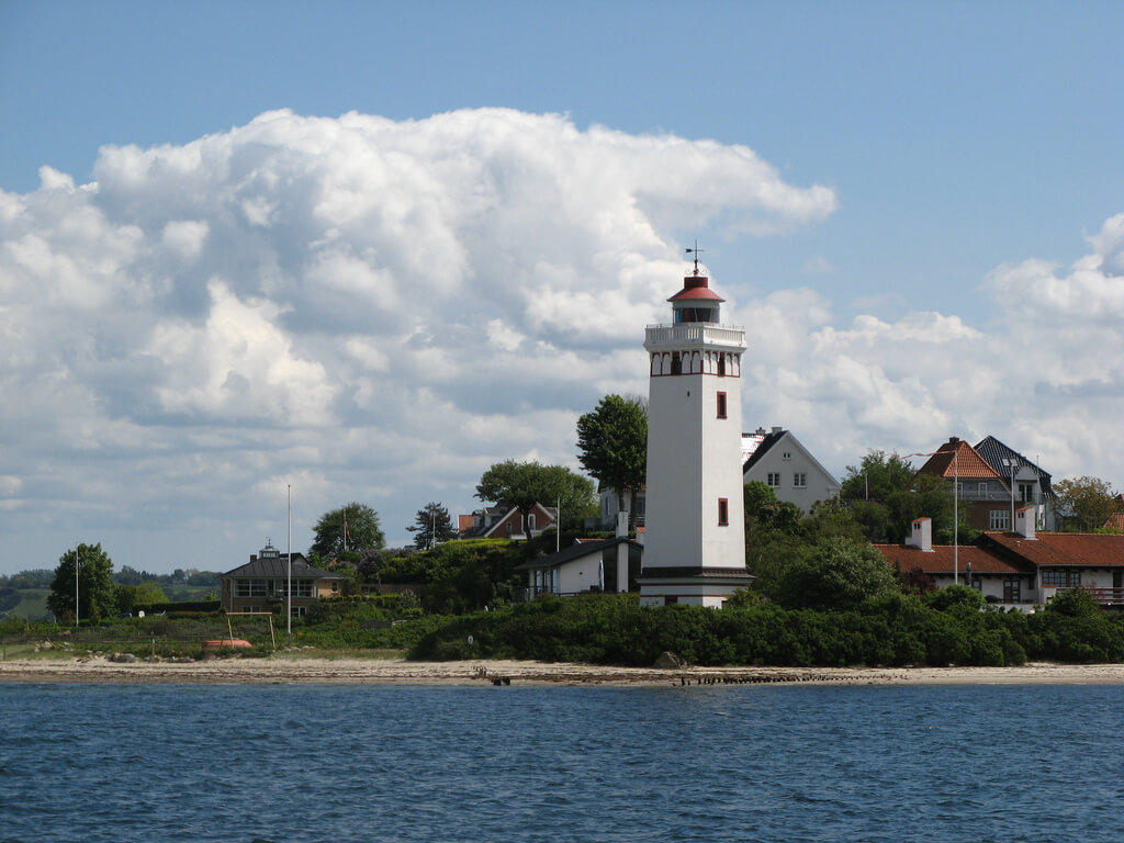 Fredericia : Strib Lighthouse