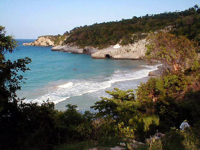 Haïti : Anse d'Azure