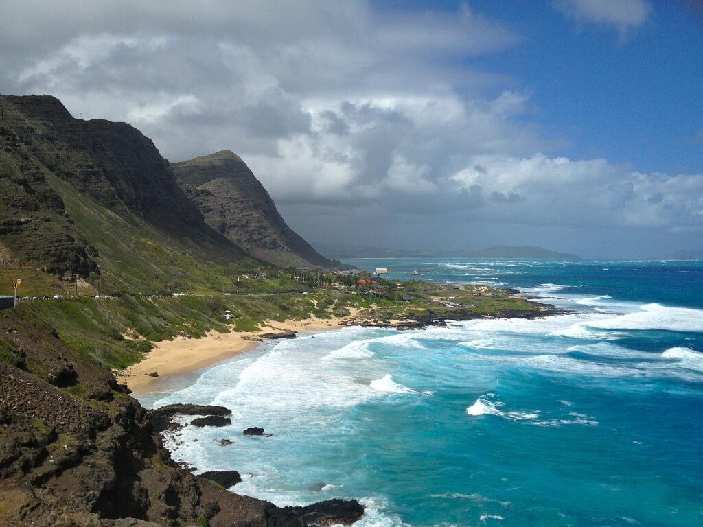Hawai : Makapuu Beach