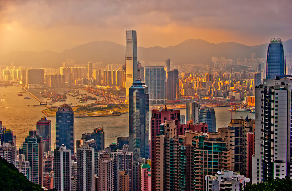 Hong Kong : Hong Kong Sunset