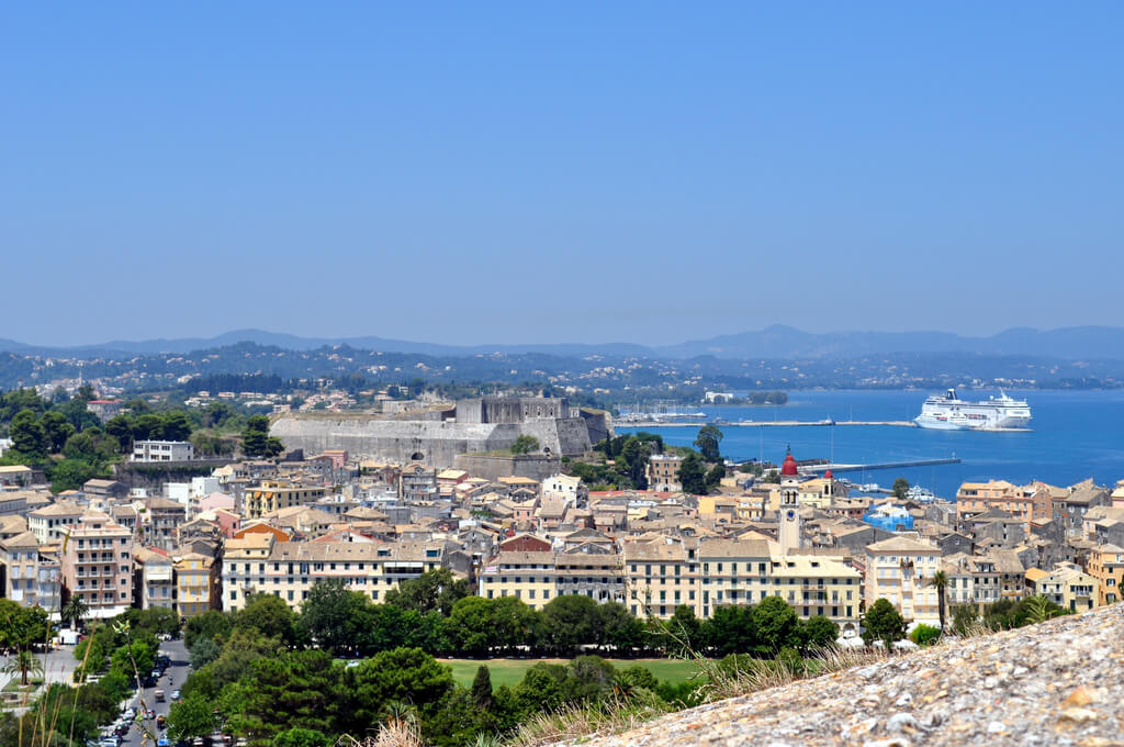 Corfou : Corfou - La vieille ville et la nouvelle citadelle