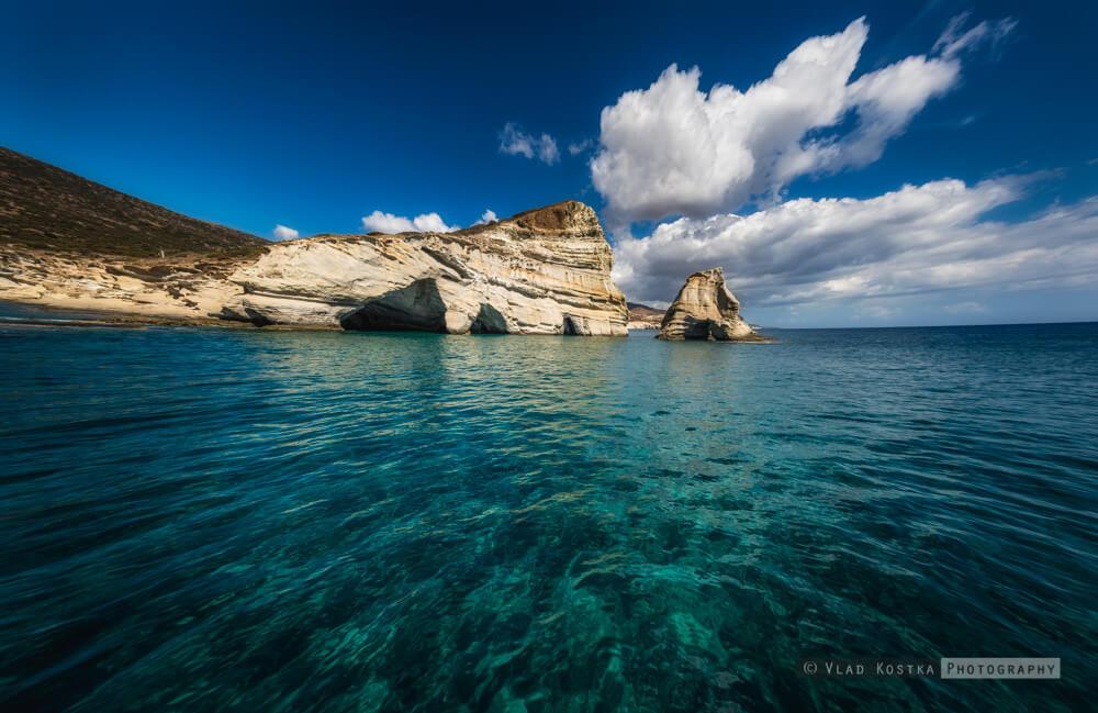 Milos : Milos Greece rocks