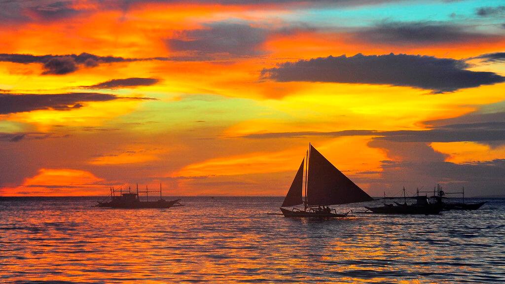 Boracay : Boracay_Sunset