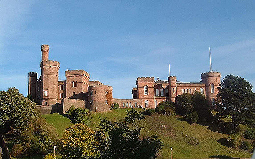 Inverness : Inverness Castle  Scotland