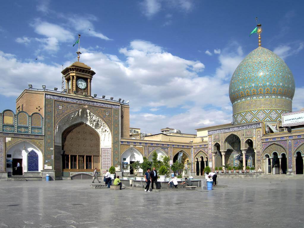 Iran : Holy Shrine of Abdulazim