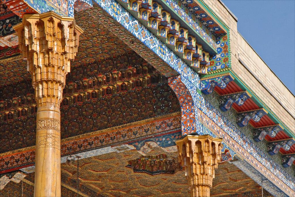 La Mecque : Le mausolée de Bakhaouddin Nakhchbandi (Boukhara, Ouzbékistan)