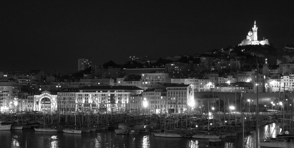 Marseille : Marseille vieux port
