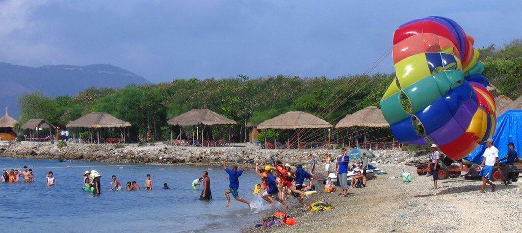 Nha Trang : Beach at island in Nha Trang Bay 3
