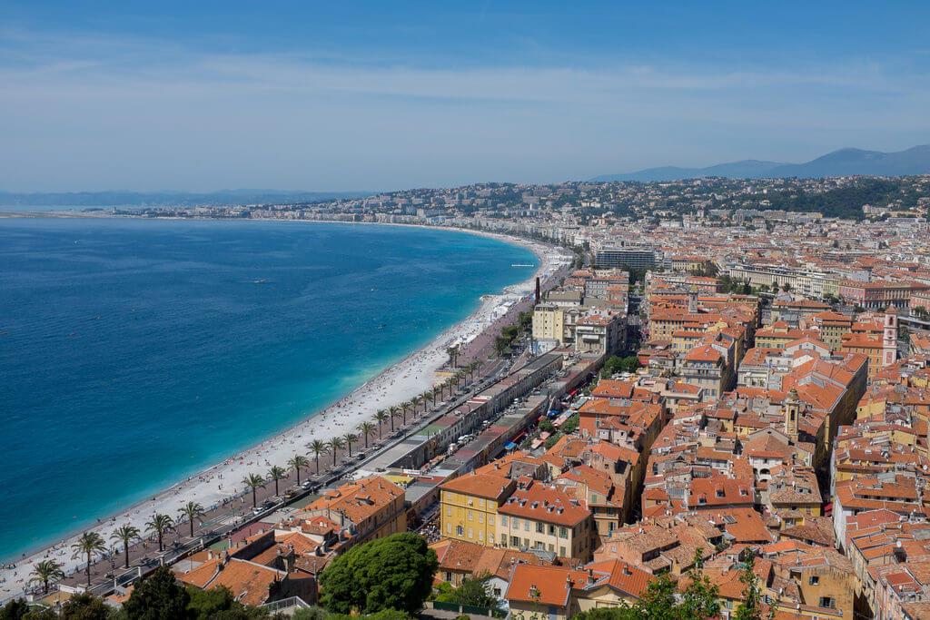 Nice (Alpes-Maritimes) : La baie des Anges (Nice)